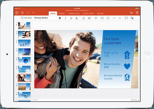 マイクロソフト-Office for iPadを提供開始・日本は対象外