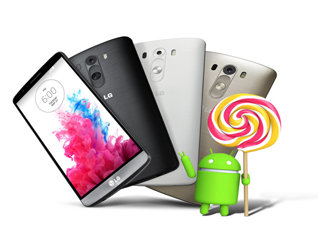LG、LG G3キャリアモデルをAndroid 5.0 Lolipopにアップデート開始