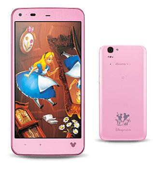 【ドコモ夏モデル】ディズニーてんこ盛りスマートフォン「Disney Mobile on docomo SH-05F」正式発表