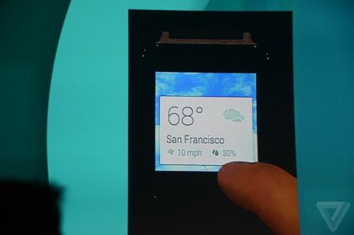 ウェアラブルデバイス向けOS「Android Wear」にも「L」のデザインを採用…ほか