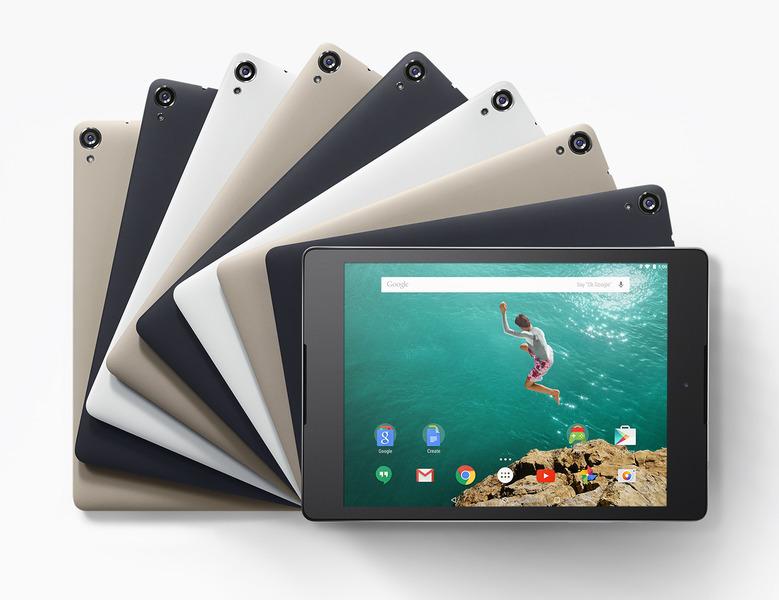Android5.0を搭載したタブレット、Nexus9の値段が発表-3万9900円~