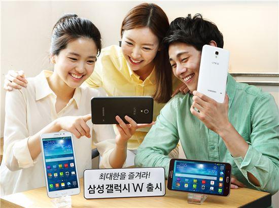 Samsung-7インチAndroidスマートフォン(!?)の「Galaxy W」正式発表