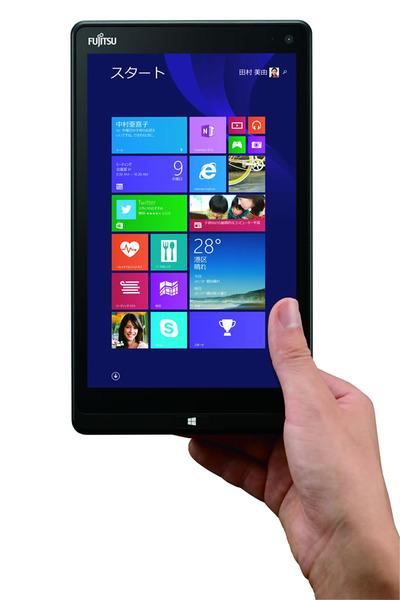 富士通Windowsタブレット「ARROWS Tab QH33/S」を発表。ハンディーサイズタブ