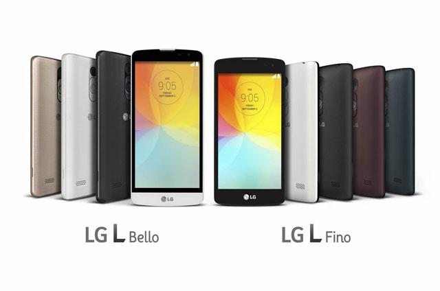 LG-背面ボタンを搭載したスマートフォン「LG L Fino」「LG L Bello」を発表
