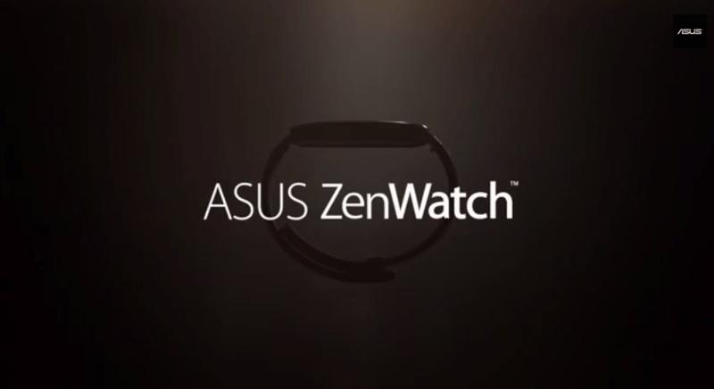 ASUS,低価格スマートウォッチをIFA2014で発表「ZenWatch」