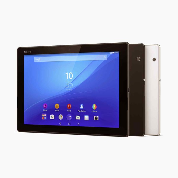 【MWC 2015】ソニー、「Xperia Z4 Tablet」を発表-わずか389gと軽量に