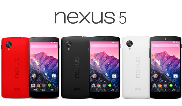 イー・モバイル「Nexus5 ブライトレッド」3月下旬に取り扱い決定!