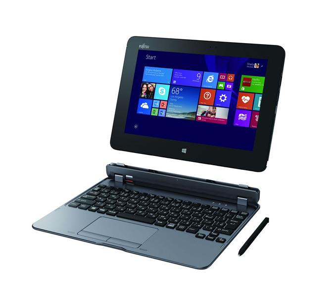 富士通、筆圧1024まで対応した10.1インチWindowsタブレット「ARROWS Tab QH55/S」を発表