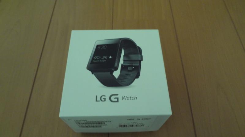 【外観レビュー】Android Wear搭載のスマートウォッチ「LG G Watch W100」をレビュー