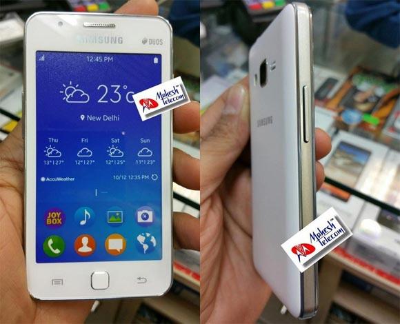 Samsung-Tizen OSを搭載したスマートフォン「Samsung Z1」の本体画像が流出