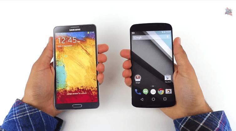 【サイズ比較】Nexus6はこんなに大きいと実感できる動画