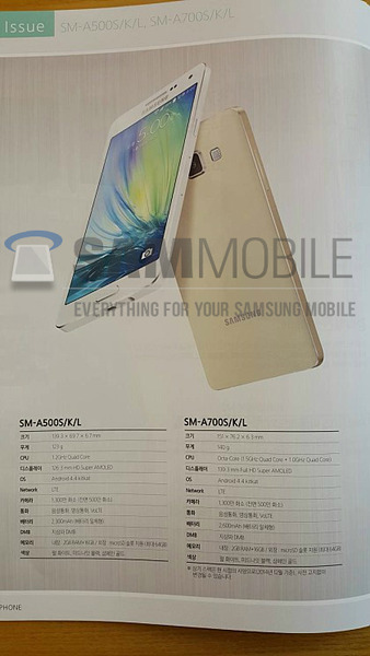 Samsung史上最薄のAndroidスマートフォン「Galaxy A7」は1月14日に正式発表へ