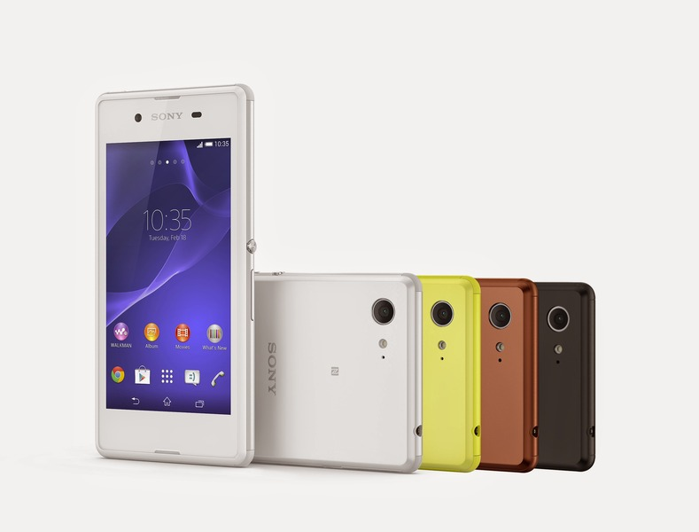 【IFA2014】ソニー、エントリーモデルのAndroidスマートフォン「XperiaE3」「XperiaE3 Dual」を発表