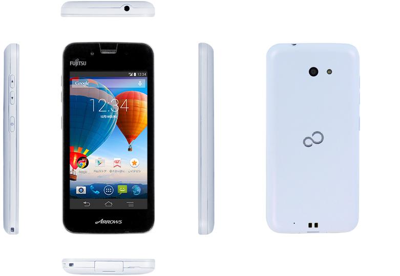 富士通として初のSIMロックフリースマートフォン「ARROWS M01」を発表