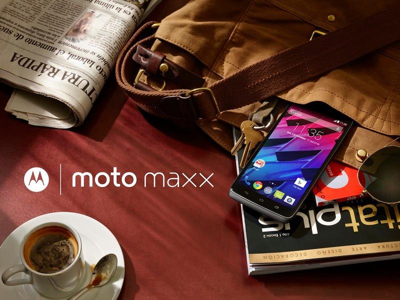 モトローラ、「Doroid Turbo」ベースのグローバルAndroidスマートフォン「Moto Maxx」を発表