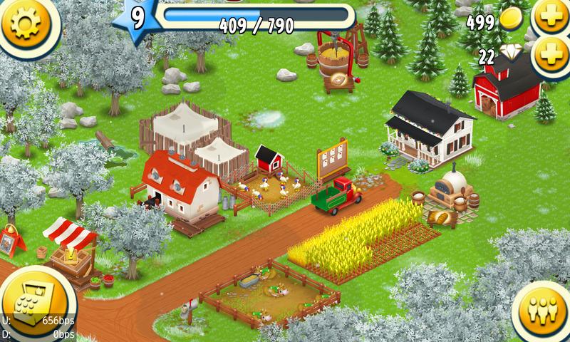 【牧場運営】HayDay 日記 #1 サイロを拡張したい
