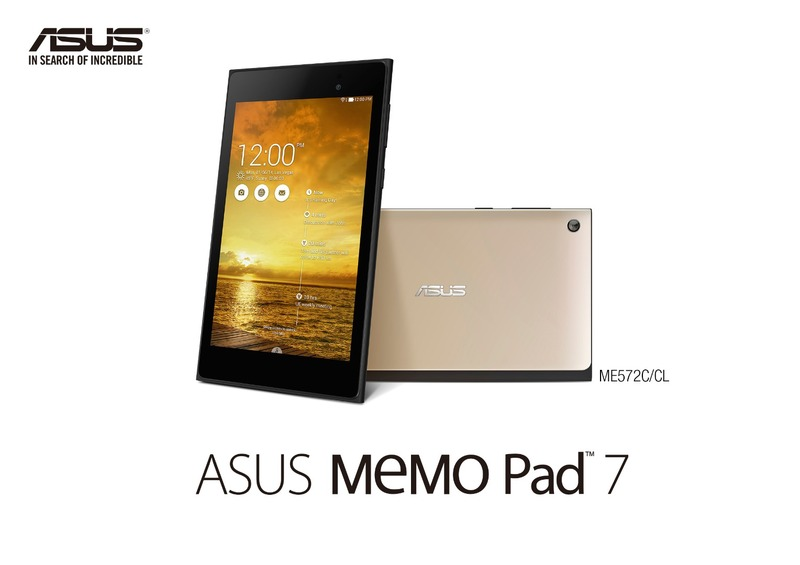 【IFA2014】ASUS、新しくなったAndroidタブレット「MeMoPad7(ME572C/CL)」を発表