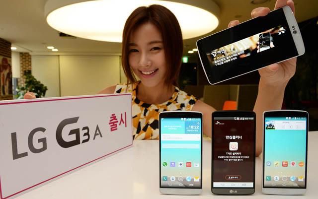 LG-LG G3 のコンパクトモデル 「LG G3 A」を発表