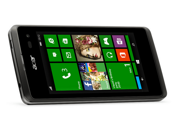 【MWC 2015】Acer、Windows 8.1を搭載したWindows Phone「Liquid M220」を発表