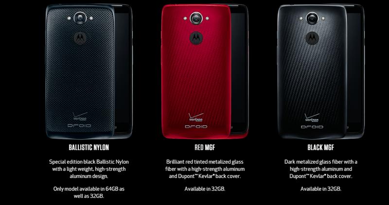 Motorola-米Verison向けAndroidスマートフォン「Droid Turbo」を正式に発表。