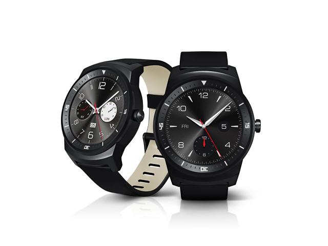 LG-円型のスマートウォッチ「LG G Watch R」を発表