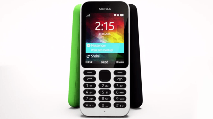 CES 2015:Microsoft、物理キーと長持ちバッテリーを搭載した「Nokia 215」を発表