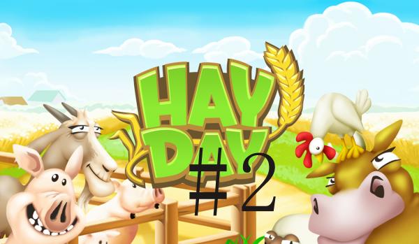 【牧場運営】HayDay 日記 #2 納屋の拡張は出来た