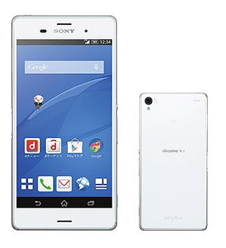【NTTドコモ】冬春モデル、ソニーAndroidスマートフォン「XperiaZ3 SO-01G」を発表