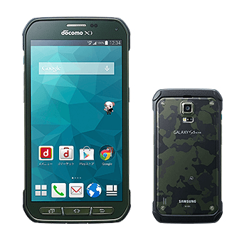 【NTTドコモ】冬春モデル、Samsungタフネススマートフォン「Galaxy S5 Active SC-02G」を発表