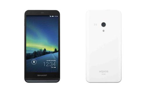 シャープ、SIMロックフリースマートフォン「AQUOS SH-M01」を発表