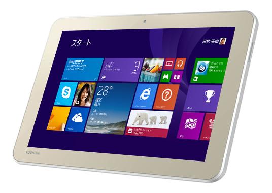 東芝-Windows8.1タブレット「DynabookTab」を2機種発表