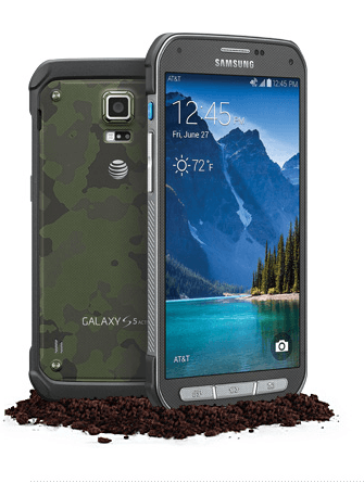 Samsung-Galaxy S5 ActiveがAT&Tで発表。タフネスマホ!