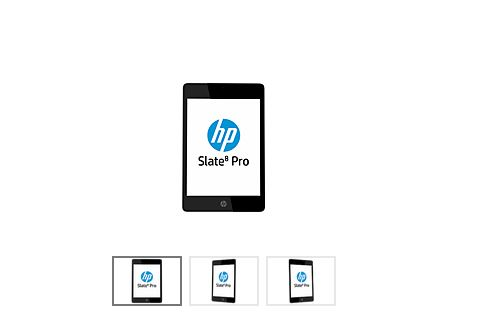 HP-Tegra4搭載のAndroidタブレット Slate 8 Proを発表