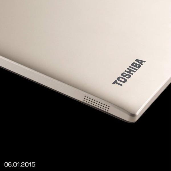 東芝,CES 2015に向けたティザー画像を公開。新型タブレットか