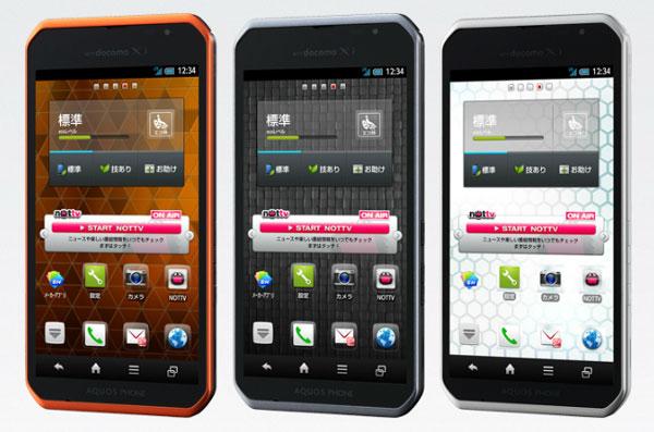NTTドコモはAQUOS PHONE sv SH-10Dに対し不具合修正を目的としたアップデートを開始