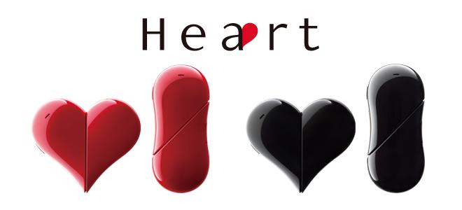 ワイモバイル-ハート形のPHS電話「Heart 401AB」を3月20日より発売へ