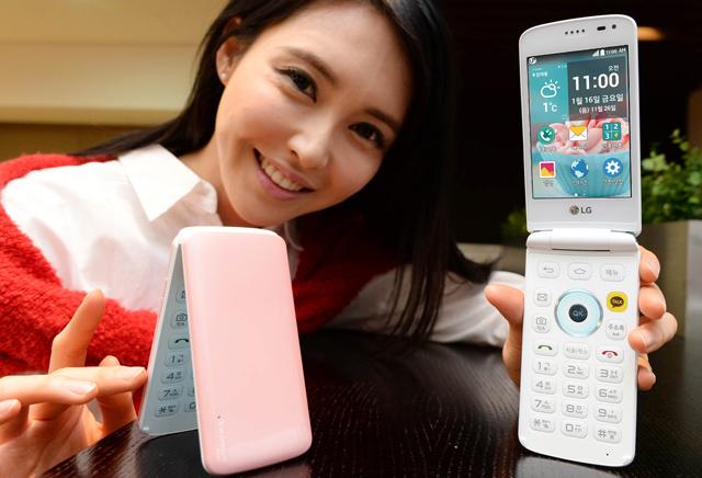 LG-折りたたみ式Androidスマートフォン「Ice Cream Smart」を発表
