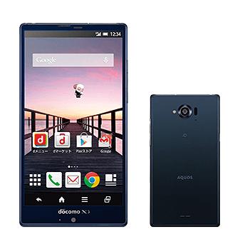 【NTTドコモ】冬春モデル、シャープ製Androidスマートフォン「AQUOS ZETA SH-01G」を発表