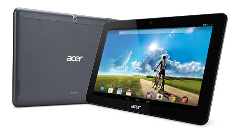 Acer、低価格10.1インチAndroidタブレット「ICONIA Tab 10」を発表