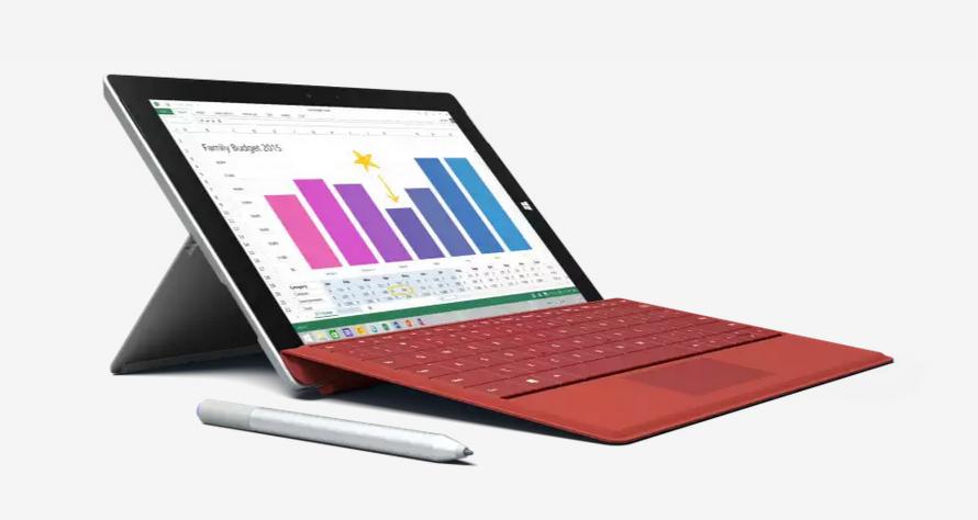 ソフトバンクグループ、Microsoft Surface 3のLTEモデルを発売へ
