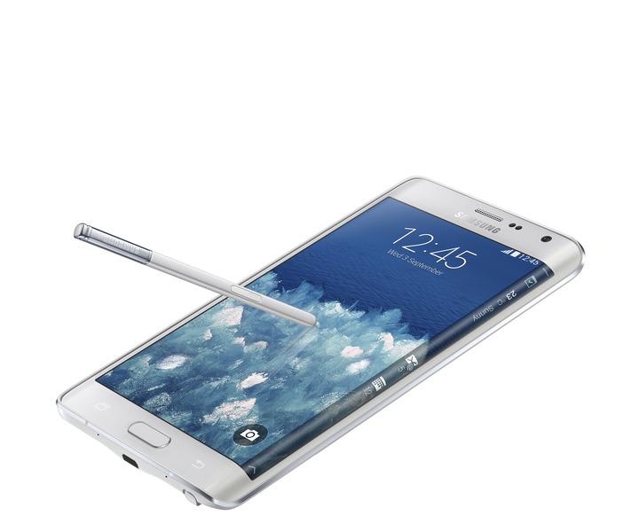 au-2014年冬モデルスマートフォン、Samsung「GalaxyNote Edge SCL24」を発表