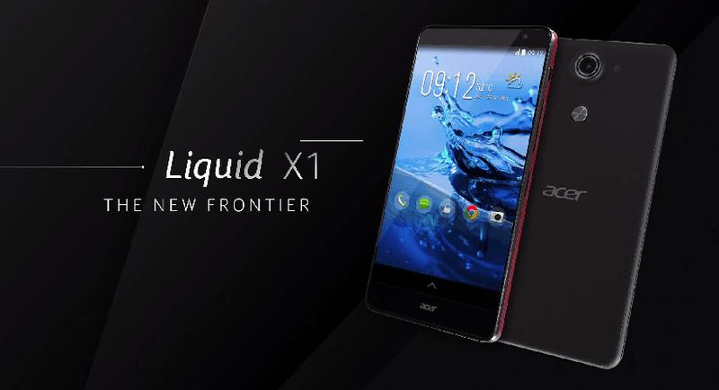Acer-5.7インチオクタコアプロセッサ搭載スマートフォン「Liquid X1」を発表