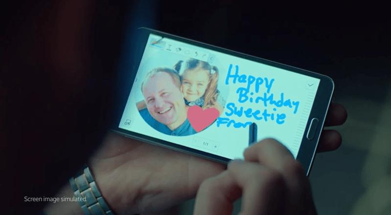 Samsung-GalaxyNote4のティザー動画を公開!IFA2014で発表