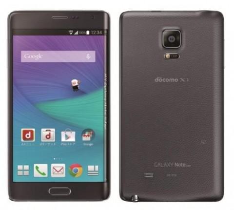 【NTTドコモ】冬春モデル、Samsung製Androidスマートフォン「GalaxyNote Edge SC-01G」を発表