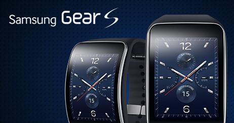 Samsung-スマートウォッチ単体で通信が可能な「Gear S」を発表