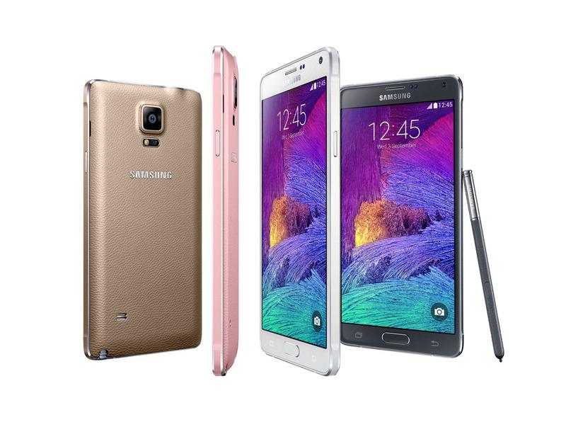 【IFA2014】Samsung、2kディスプレイを搭載した「GalaxyNote4」を発表
