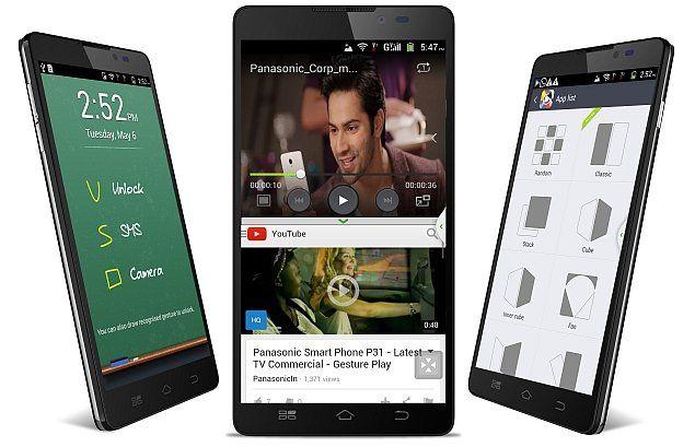 パナソニック-インド向けオクタコアスマートフォン「Panasonic P81」を発表