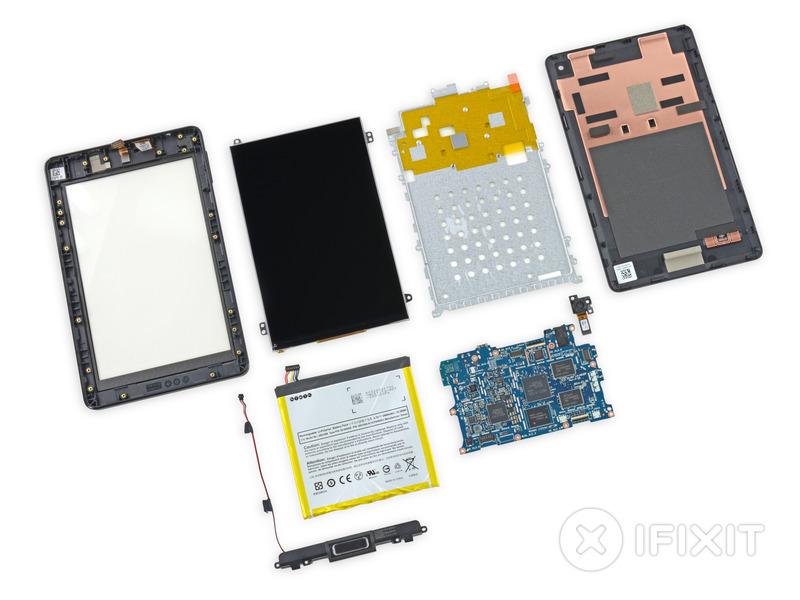 Amazon「新型Kindle」と「Fire HD 6」の分解レポートをiFixitが公開