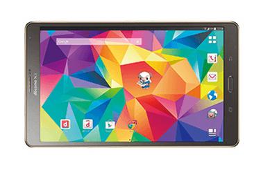 【NTTドコモ】LTE通信に対応したAndroidタブレット「GalaxyTab S 8.4 SC-03G」を発表