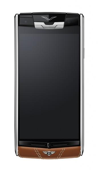 超高級170万円のスマートフォン「Vertu for Bentley」を発表-自動車メーカーとコラボ
